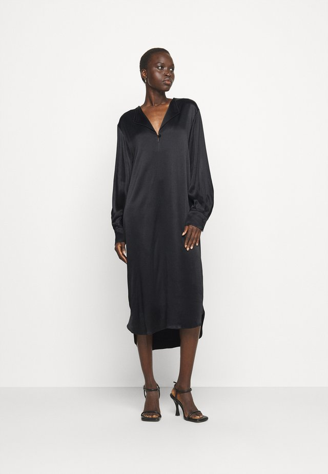 RONJA - Robe longue - black