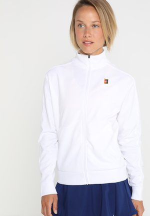 WARM UP JACKET - Chaqueta de entrenamiento - white