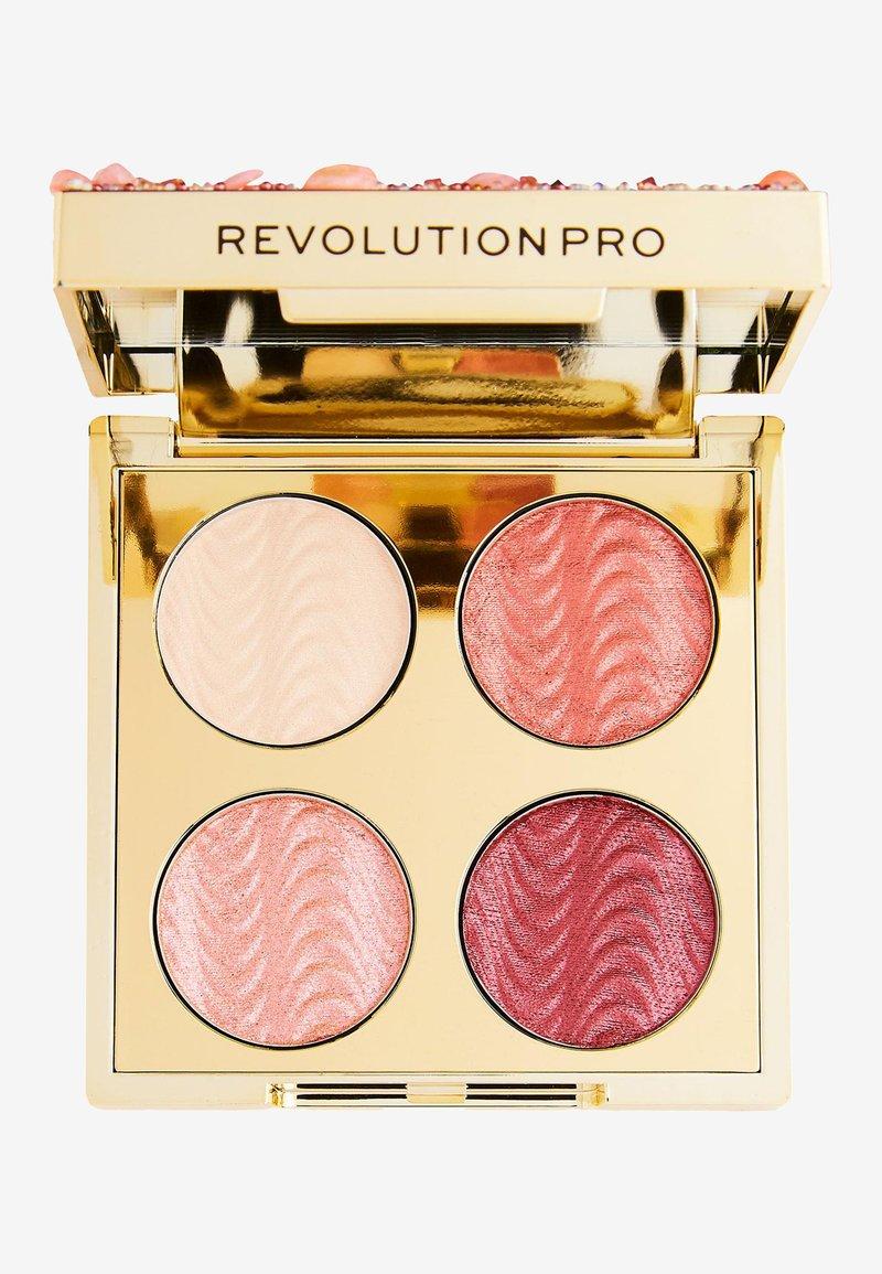 Revolution PRO - ULTIMATE EYE LOOK QUARTZ CRUSH PALETTE - Eyeshadow palette - -
