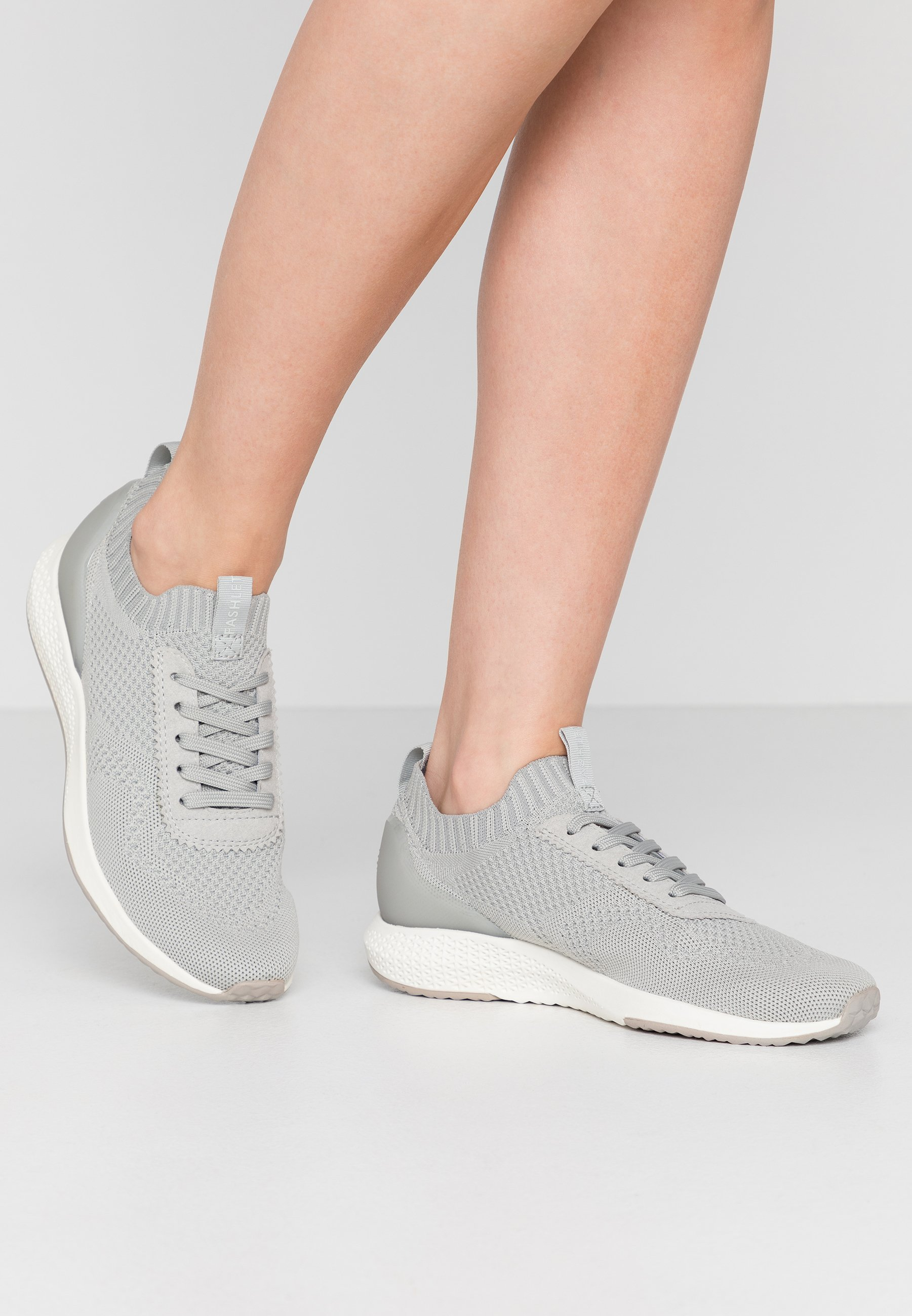 Tamaris Fashletics Joggesko steel grey Zalando.no