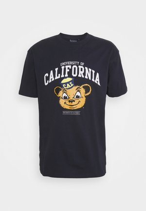 CALI BEARTEE - Print T-shirt - navy