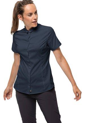 Button-down blouse - nachtblau (301)