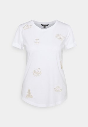 UPTOWN - Camiseta estampada - white