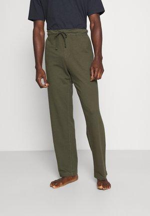 DYED JOGGER - Pyjama bottoms - ivy green