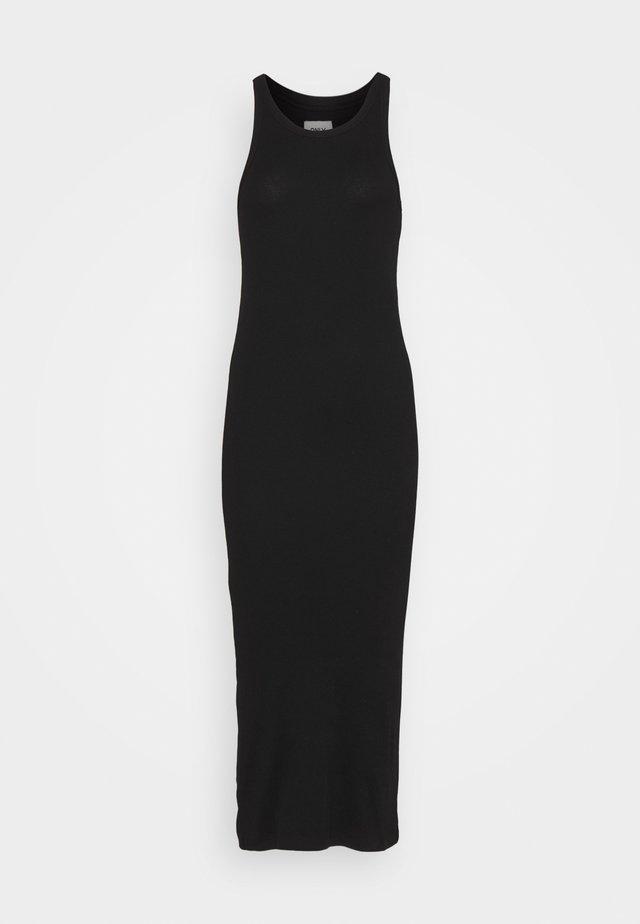 ONLLINDSAY DRESS - Jerseykjoler - black