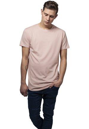 SHAPED LONG TEE DO NOT USE - Basic T-shirt - light rose