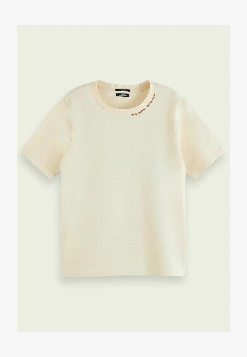 Scotch & Soda - Print T-shirt - ecru
