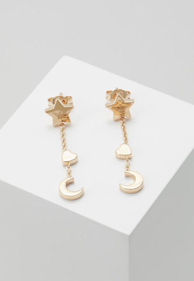 Örhänge - rose gold-coloured