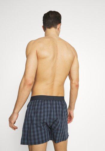 3 PACK - Boxer shorts - blue/light blue