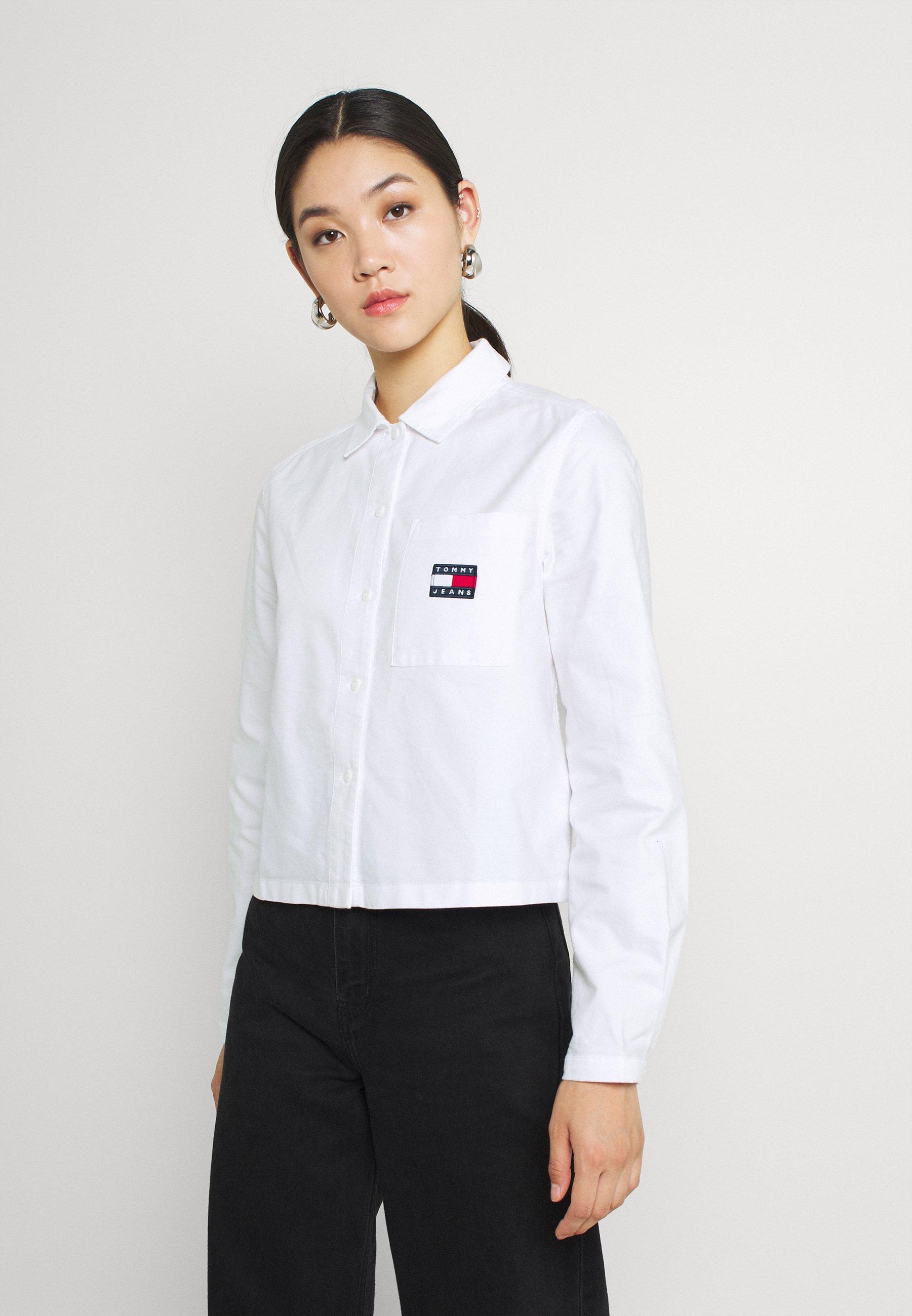 Women HERITAGE BADGE SHIRT - Button-down blouse