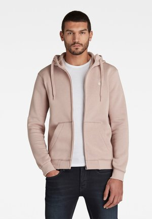 PREMIUM CORE HOODED ZIP - Huvtröja med dragkedja - pink