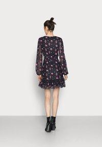 Even&Odd Tall - Day dress - black/multi-coloured - 2