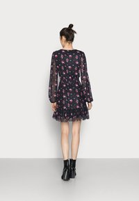 Even&Odd Tall - Denní šaty - black/multi-coloured - 2