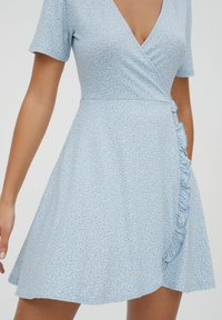 PULL&BEAR - Day dress - light blue - 3