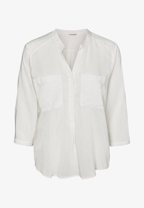 Vero Moda VMERIKA PLAIN - Bluzka - white/biały KNYQ