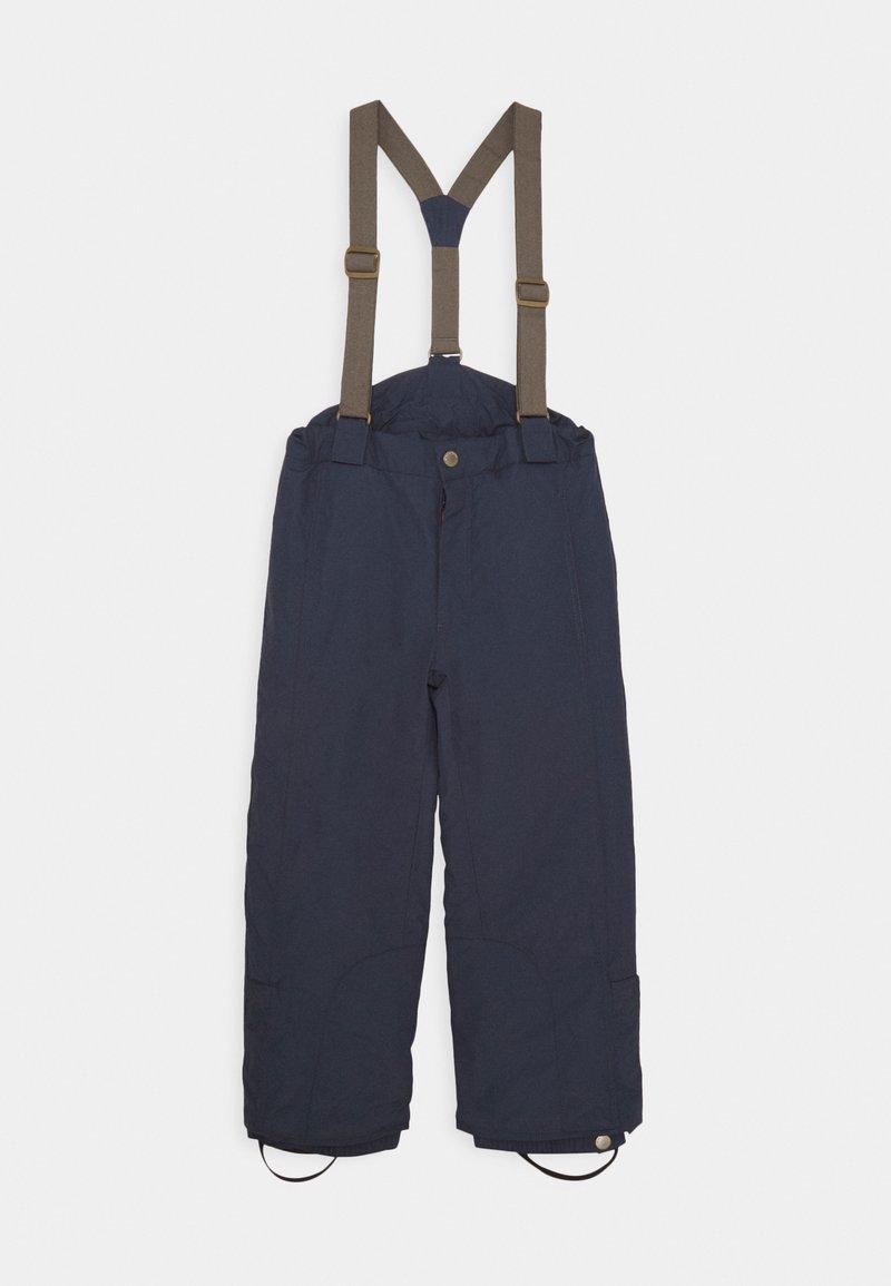 MINI A TURE - WITTE PANTS UNISEX - Snow pants - blue nights
