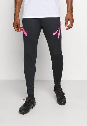 DRY STRIKE PANT - Tracksuit bottoms - black/hyper pink/hyper pink