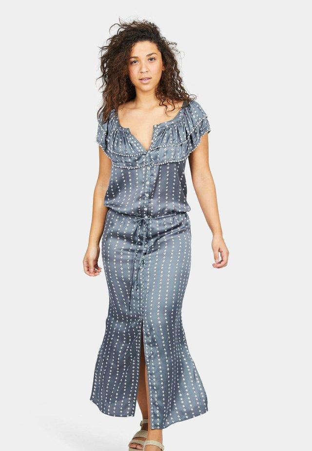 Maxi-jurk - batik grey