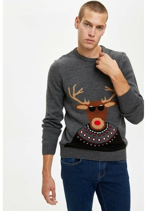CHRISTMAS - Jumper - grey