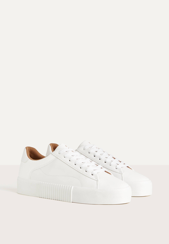 MIT TIERPRÄGUNG Sneakers white