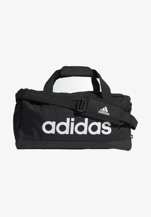 ESSENTIALS LOGO DUFFEL BAG EXTRA SMALL - Treningsbag - black