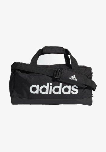 ESSENTIALS LOGO DUFFEL BAG EXTRA SMALL - Treningsbag - black