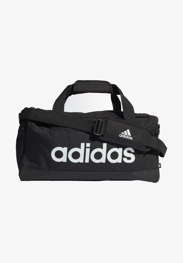 ESSENTIALS LOGO DUFFEL BAG EXTRA SMALL - Sportväska - black