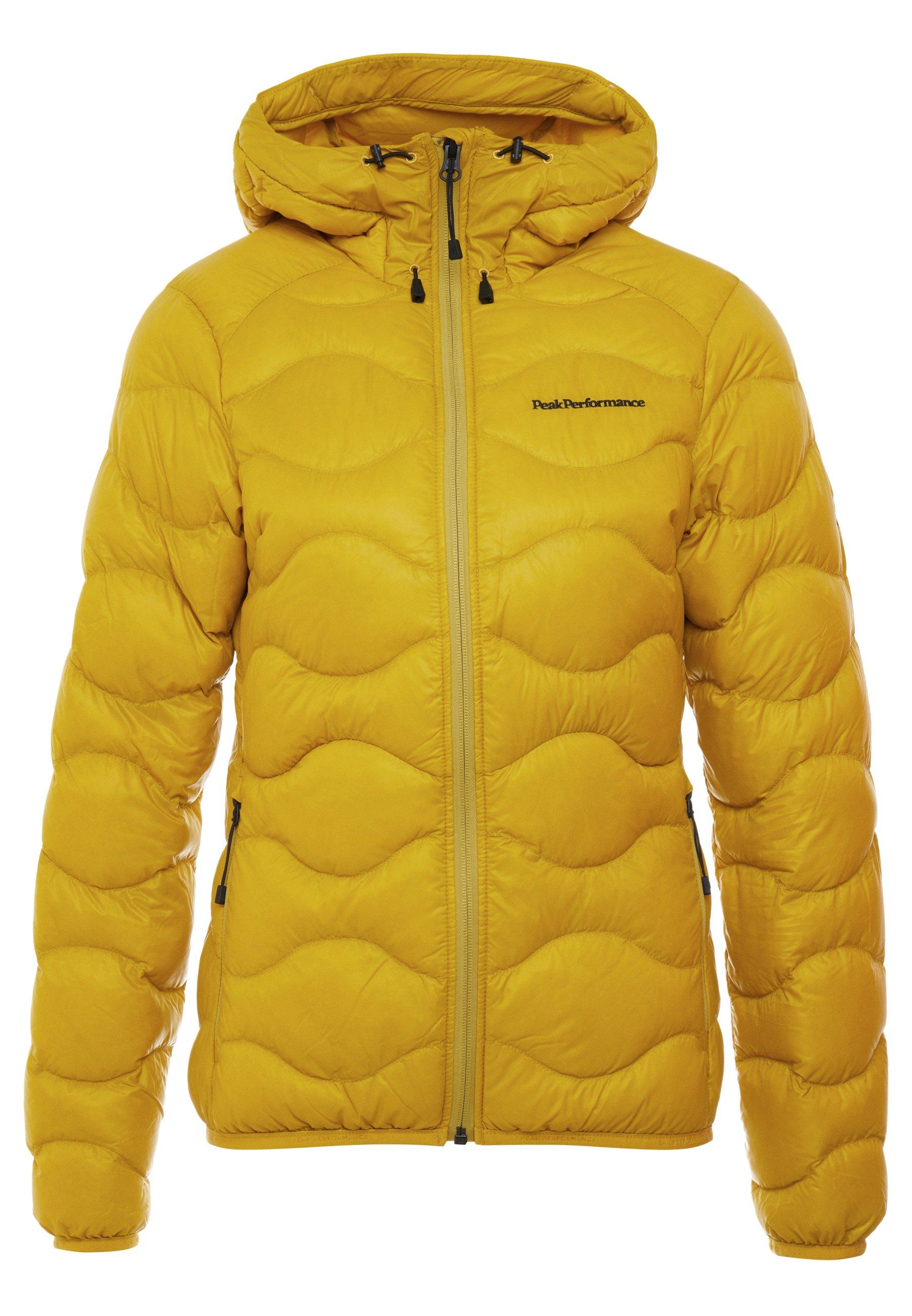 Peak Performance Helium Hood Jacket Yellow Flow