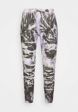 ÇOK RENKLI - Teplákové kalhoty - lilac/black