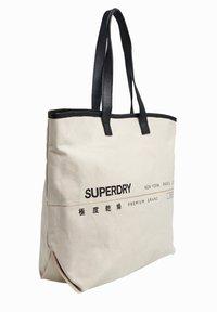 Superdry - PORTLAND - Shopping bag - off-white - 3