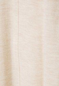 Repeat - Strikket kjole - beige melange - 5
