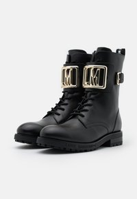 Love Moschino - DAILY - Cowboy/biker ankle boot - black - 2