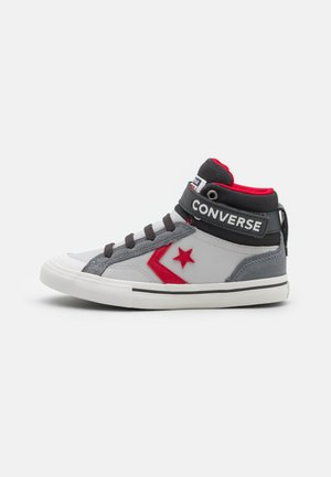 PRO BLAZE STRAP UNISEX - High-top trainers - mouse/ash stone/university red