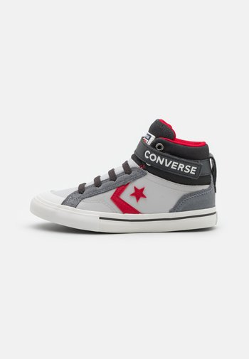 PRO BLAZE STRAP UNISEX - Sneaker high - mouse/ash stone/university red