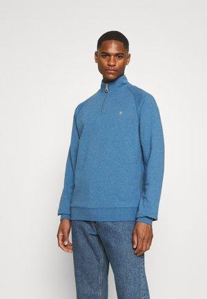 JIM ZIP - Sweatshirt - blue mist