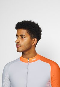 POC - ESSENTIAL ROAD  - Long sleeved top - granite grey/zink orange - 3