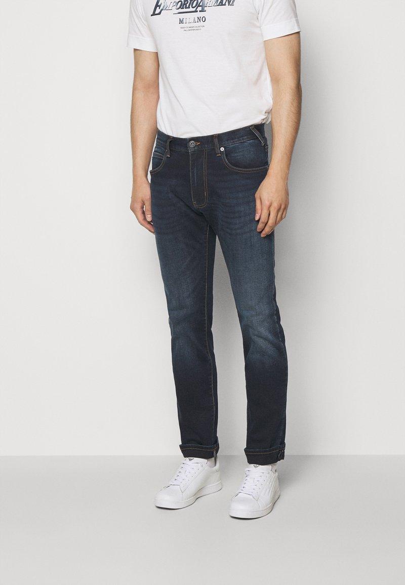 Emporio Armani - Jeans a sigaretta - blue