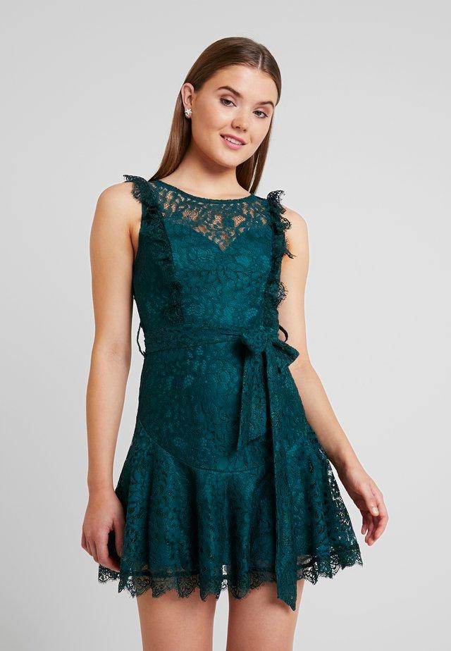 CITY MINI DRESS - Robe de soirée - green