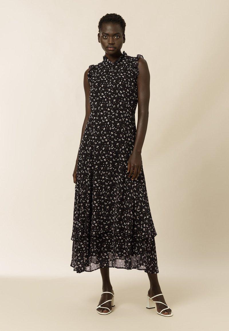 IVY & OAK - Maxi dress - aop- black