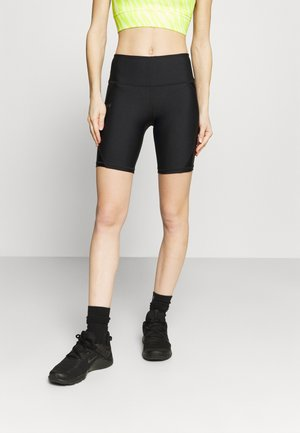 SHINE BIKESHORT - Leggings - black