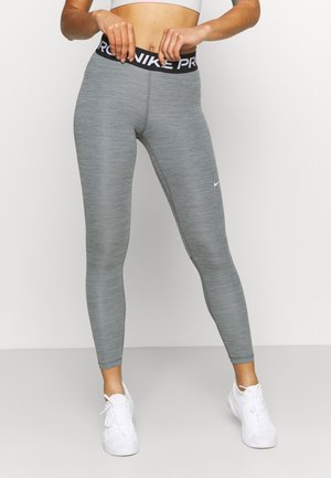 Tights - smoke grey heather/black/white