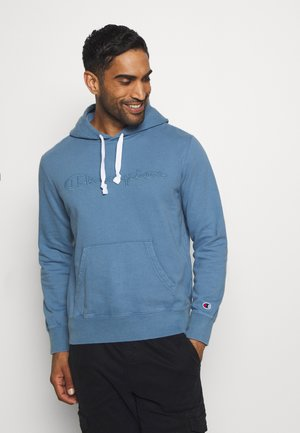 ROCHESTER HOODED - Sweat à capuche - blue