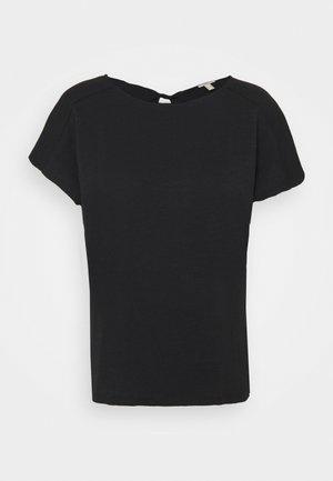 BACKTIE - Basic T-shirt - black