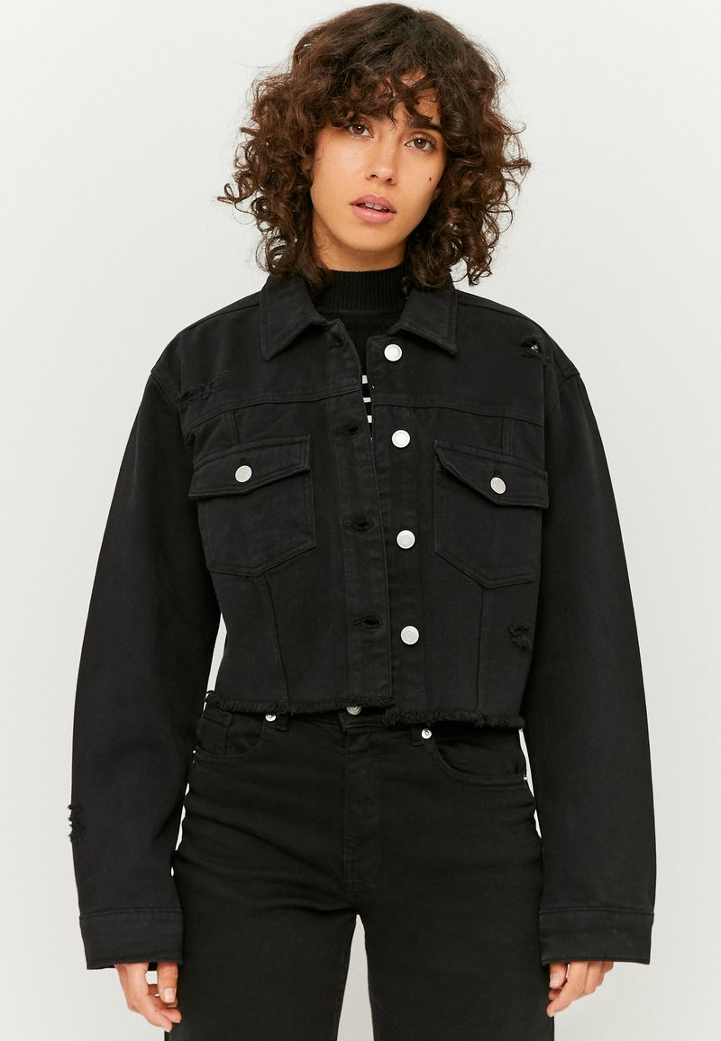 TALLY WEiJL - Denim jacket - black