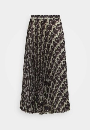 NUSSA SKIRT - A-line skirt - brown