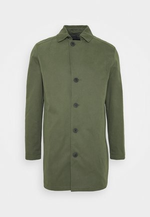 SLHNEW TIMES COAT  - Halflange jas - forest night