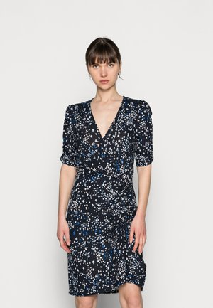 DRESS HEATHER - Jersey dress - dark navy