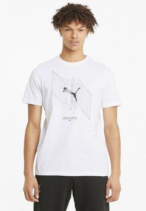 AVENIR - Printtipaita - puma white