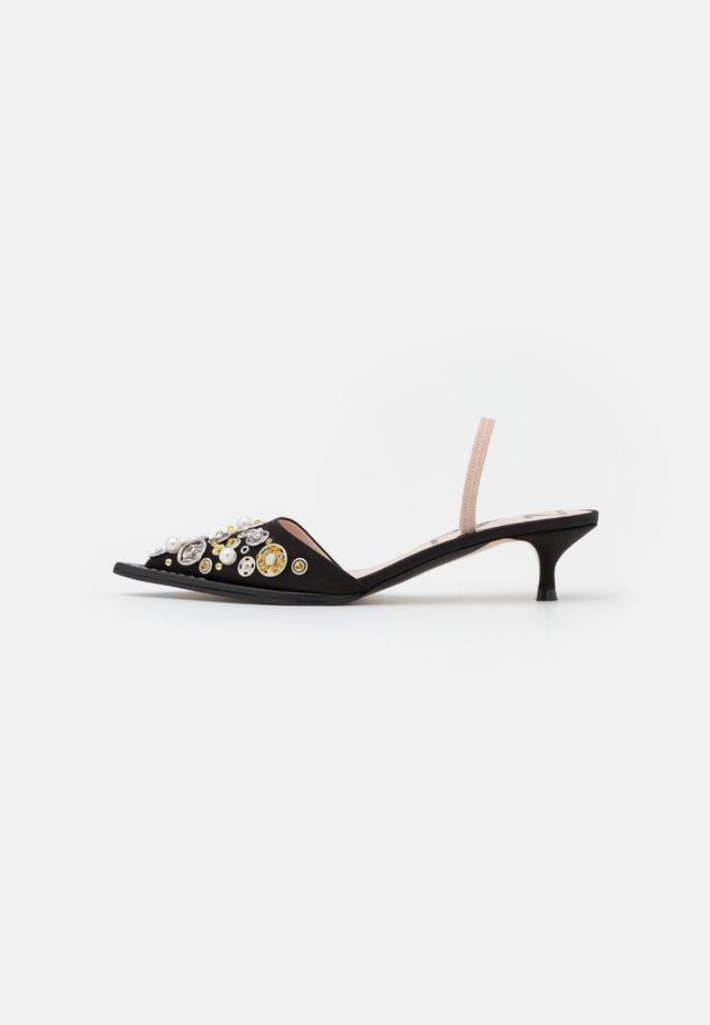 SLINGBACK - Classic heels - black