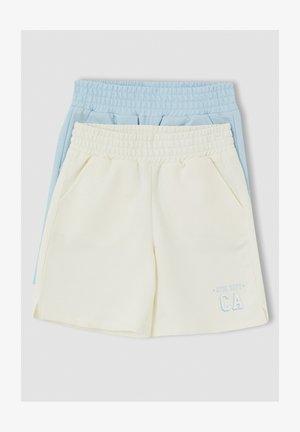 2 PACK - Short - beige